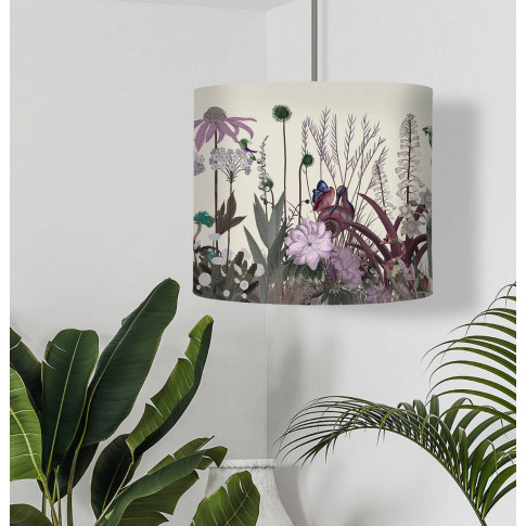 Wildflower Blush Botanical Lampshade