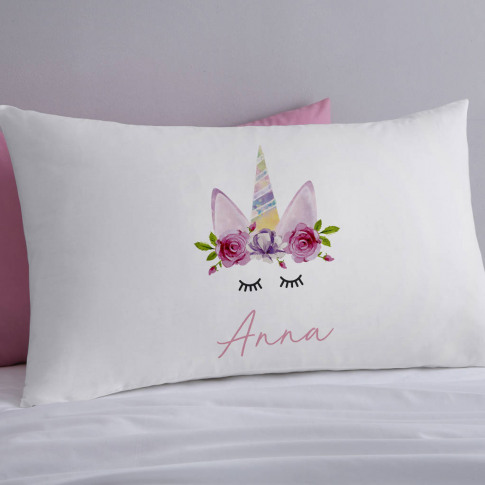 Unicorn Personalised Pillowcases