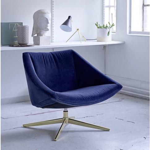 Deep Velvet Armchair