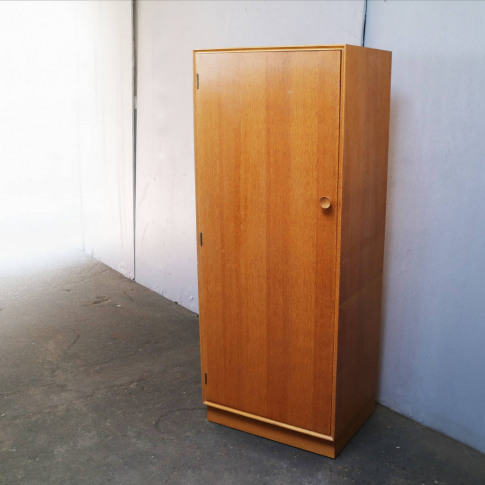 1970's Mid Century Modern Small Wardrobe By Meredrew