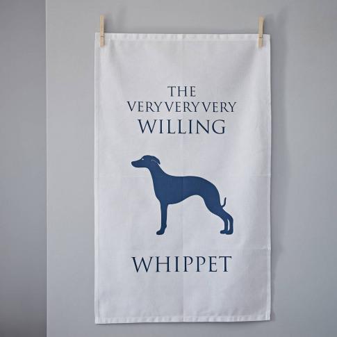 Whippet Linen Union Tea Towel