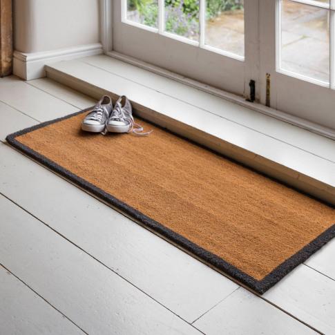 Extra Long Doormat With Border