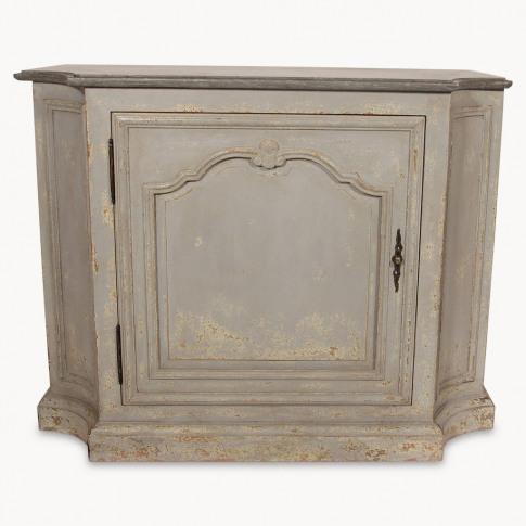 Woodcroft Stone Top Single Door Cabinet