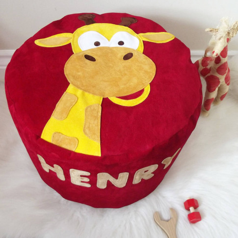 Animal Character Personalised Bean Bag Beanbag