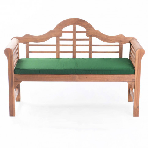 Lutyens Garden Bench And Cushion
