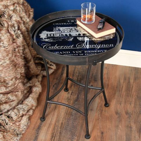 Cabernet Sauvignon French Side Table