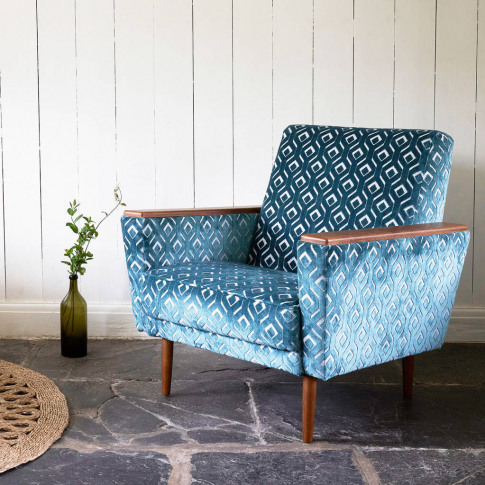 The New Santiago Major Vintage Style Armchair