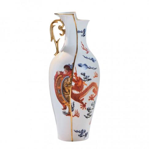 Hybrid Vase In Red