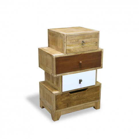 Natural Eclectic Four Or Eight Drawer Chest