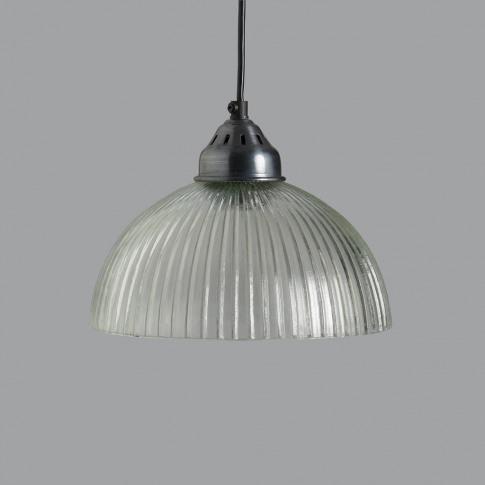 Harmonia Ridged Glass Pendant Light
