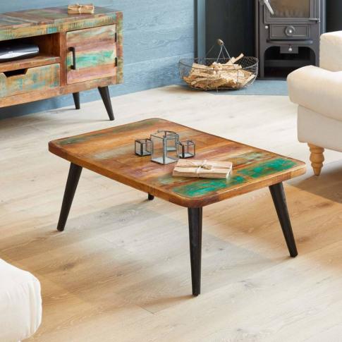 Dunes Reclaimed Wood Coffee Table