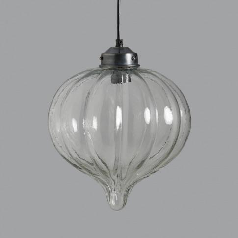 Selene Large Glass Droplet Pendant Light