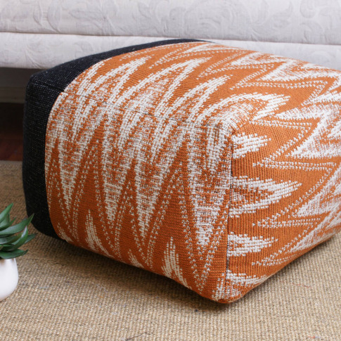 Made To Order Asymmetric Square Pouffe