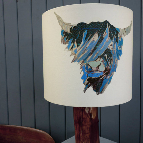 'Bloo Coo' Lampshade
