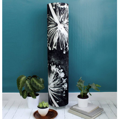 Aliums Monochrome One Meter Tall Feature Floor Lamp