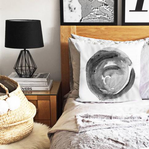 Watercolour Dot Cushion Cover