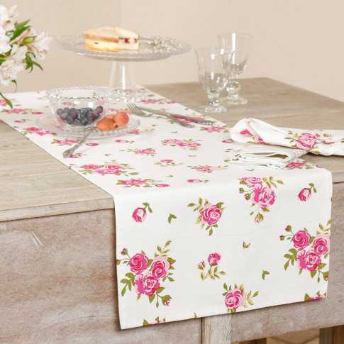 Luxury Helmsley Blush Country Table Runner