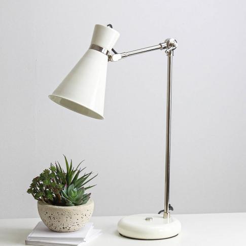 Mayfair Cream Desk Lamp