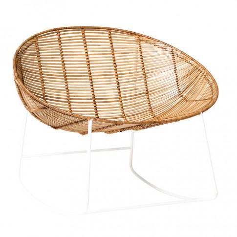 Bloomingville Rocking Chair In Natural Rattan