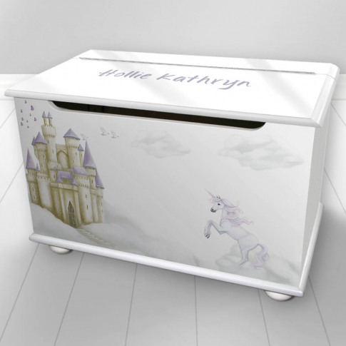 Personalised Toy Box Fairy Tale Design