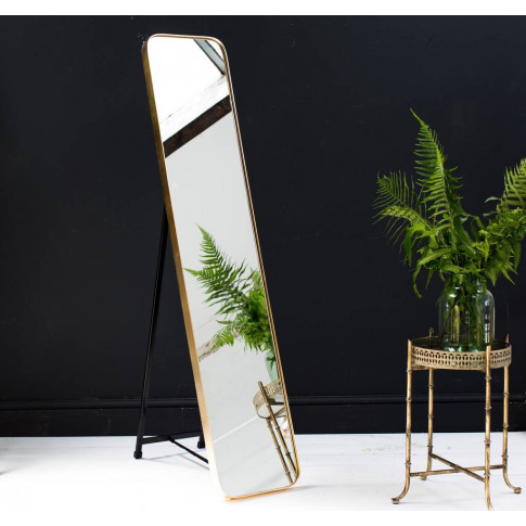 Gold Framed Full Length Mirror