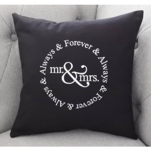Always And Forever Wedding And Anniversary Cushion