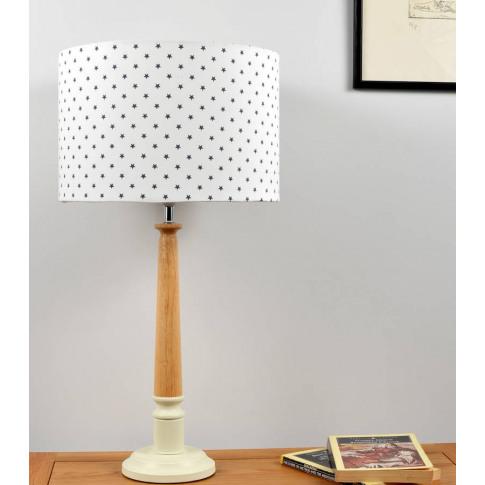 Mini Stars Wooden Table Lamp