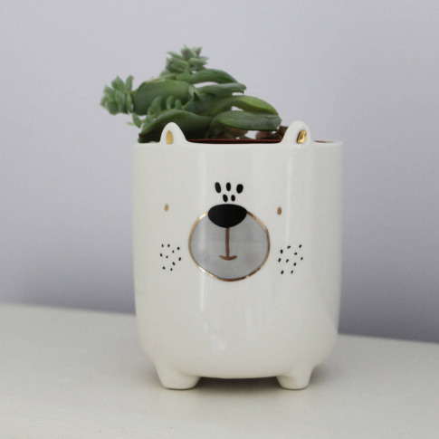 Mini Bear Plant Pot