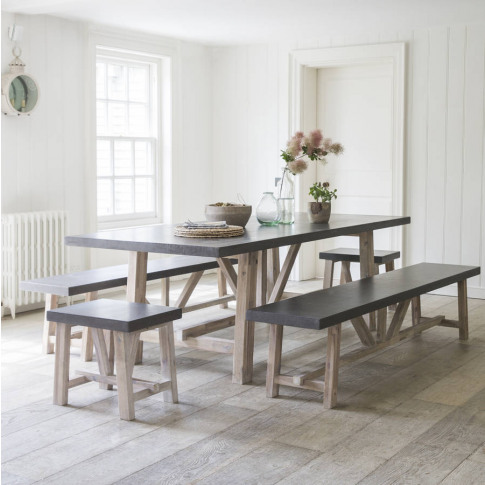 Chilson Table, Bench And Stool Set