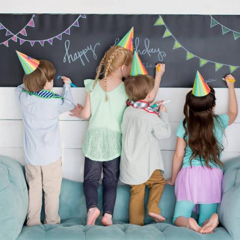 Chalkboard Reusable Table Runner / Poster