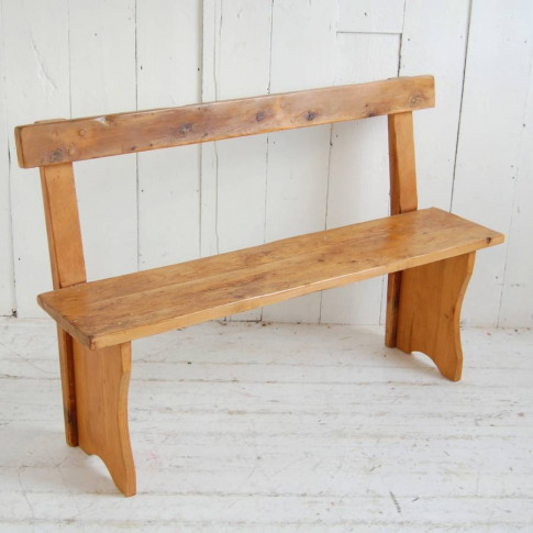 Long Wooden Bespoke Bench