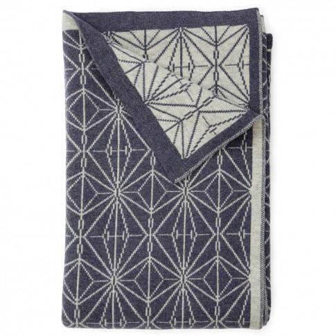 Merino Wool Kaleidoscope Blanket