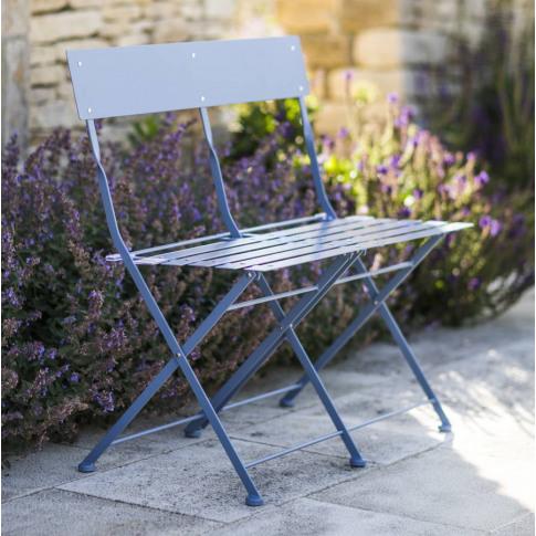 Willow Blue Garden Bench