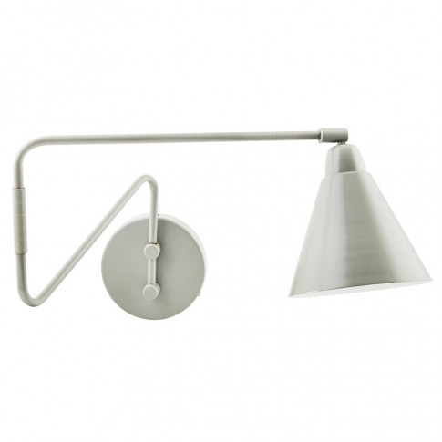 Grey And White Wall Lamp