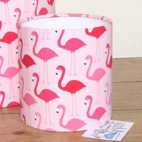 Pink Flamingo Lampshade