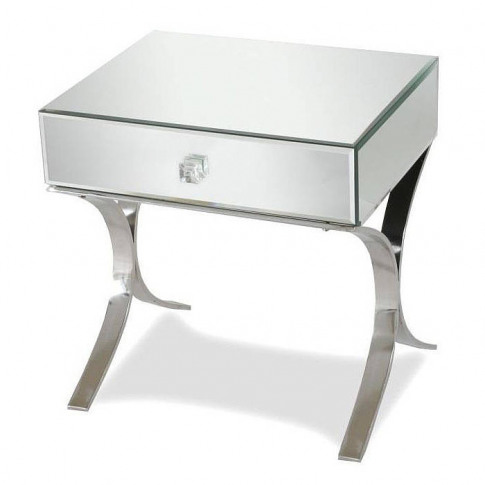 Iconic Mirrored Bedside Table