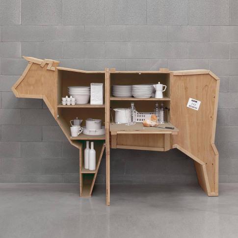Cow Storage Cabinet