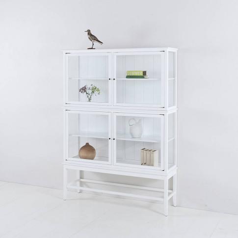 Scandinavian Glass Cabinet