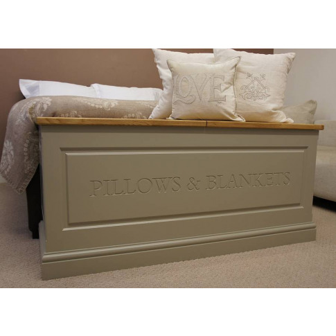 Blanket Box In A Choice Of Sizes And Colours
