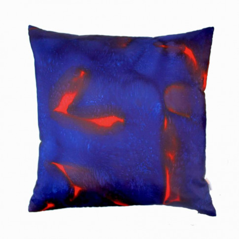 Scarlett Hand Painted Silk Square Cushion