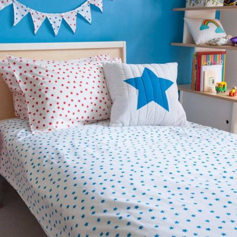 Blue Star Duvet Cover