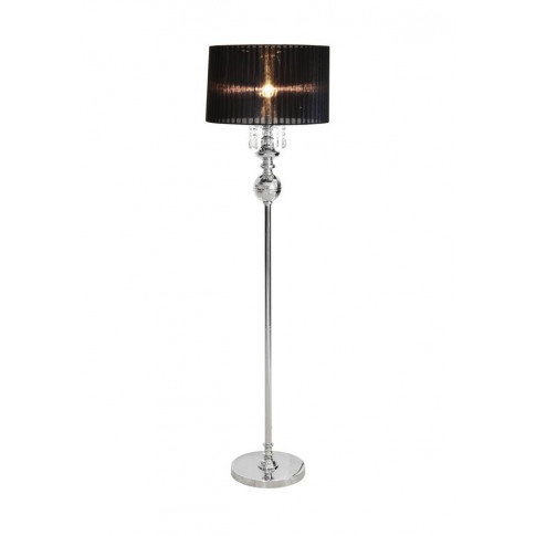 Crystal Shaded Chandelier Floor Lamp