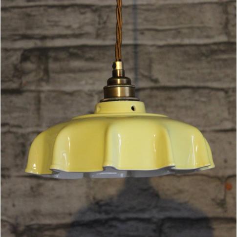 Campbell Primrose Ceramic Pendant Light