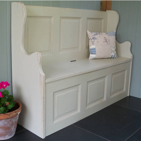 Three Seater Monks' Bench Hand Painted In Any Colour