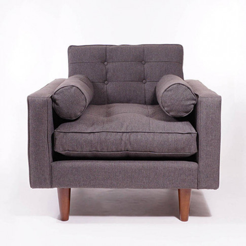 Pascal Armchair In Grey