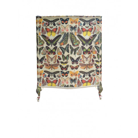 French Butterfly Chest Of Drawers