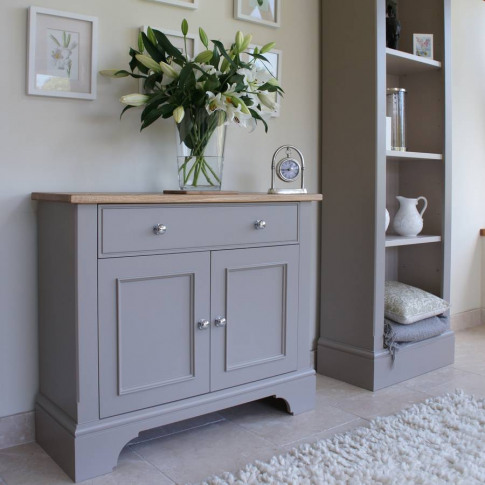 Baslow Slimline Sideboard In Choice Of Colours And Size