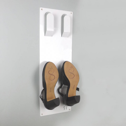 Slimline Wall Mounted Shoe Rack