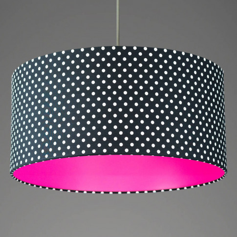 Pick And Mix Spot Drum Lampshade Choice Of Colours