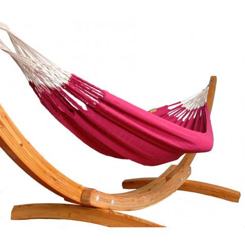 Fuschia Pink Knitted Single Hammock